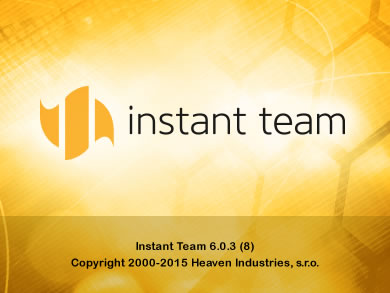 We have released version 6.0.3 of Instant Team.